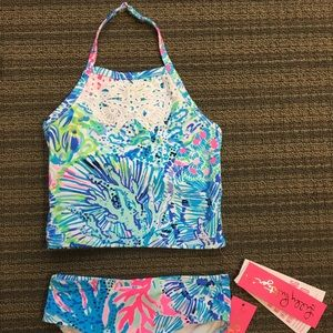 Lilly Pulitzer girls size 4 bathing suit NWT